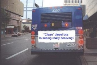 So-Called Clean Diesel Bus